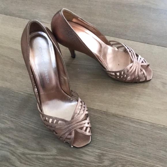 Sigerson Morrison Shoes - Selling Sigerson Morrison rose gold heels